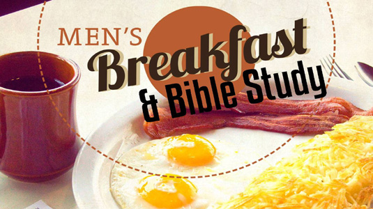 Men's Breakfast & Bible Study @ Parish Hall @TCR