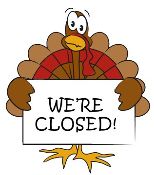 Office Closed- Thanksgiving Holiday